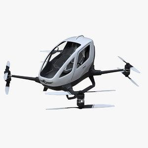ehang single passenger aerial 3D model