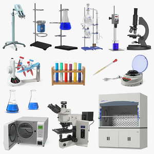 3D model lab equipment 7
