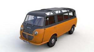 goliath express 1100 luxusbus 3D model