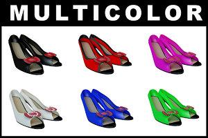 heel shoe fashion 3D