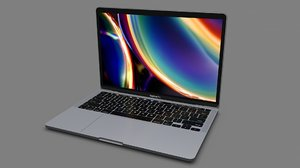 3D model macbook pro 13-inch