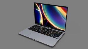 macbook pro 16-inch 2020 3D model