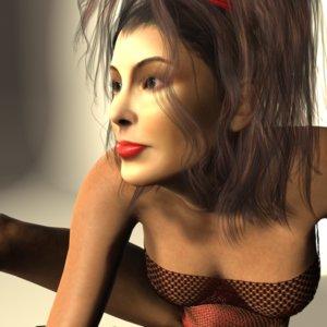 3D realistic danielle model