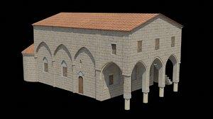 aziz paulus kilisesi 3D model