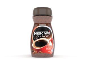 nescafe clasico dark roast model