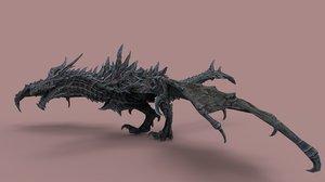alduin dragon 3D model