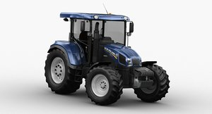 new holland tractor 3D