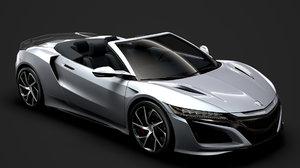 3D acura nsx cabrio 2020
