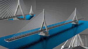 3D nile bridge