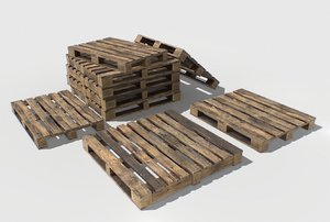 3D industrial pallets