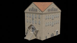 3D tarsus american college model