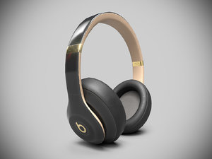 3D model beat headphones