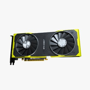 3D nvidia geforce rtx 2080