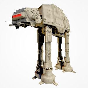 star wars at-at imperial 3D model