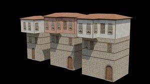 3D tarsus houses