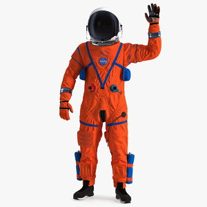 ocss spacesuit astronaut greetings 3D