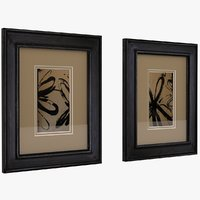 Art Frame Wood Distressed