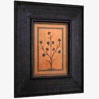 Art Frame Wood Distressed Large