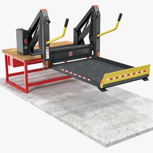 ricon linear wheelchair lift 3D