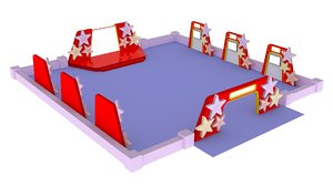layout event gate 3D