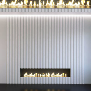 3D wall panel set 123
