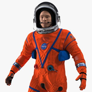 3D nasa ocss astronaut spacesuit