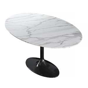 dining table pearl white model