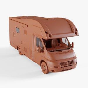 camper van 3D model
