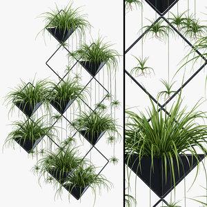 3D model la ikebana