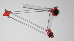 3D model mini drafter