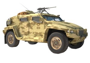 hawkei armoured 3D