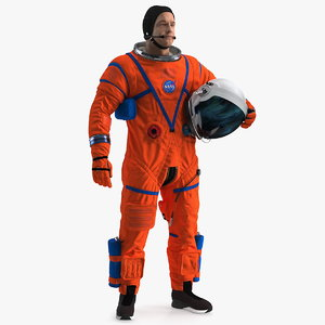 astronaut orion crew survival 3D