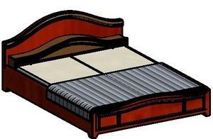 3D model bed family