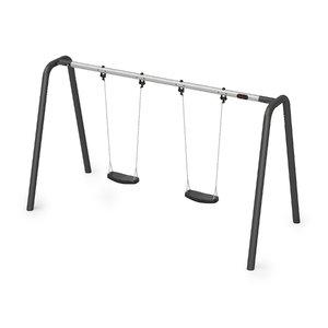 3D model double swing