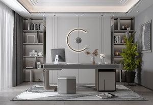 interior materials 3D model