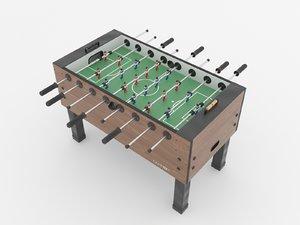 football table carrom 3D