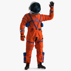 astronaut aces spacesuit greetings model