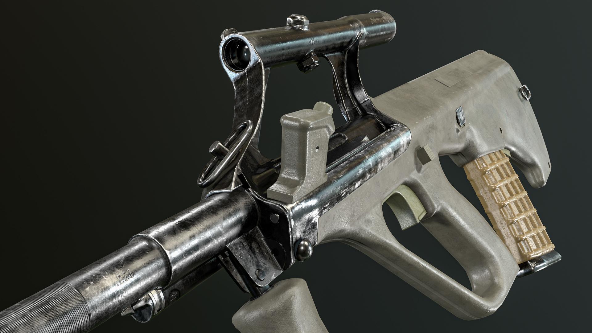 3D steyr aug model - TurboSquid 1575959