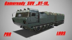 3D military suv dt-10 model