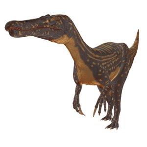 3D suchomimus tenerensis model