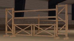 3D jump wooden