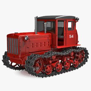 soviet crawler tractor dt54 model
