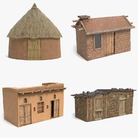 African Houses Collection