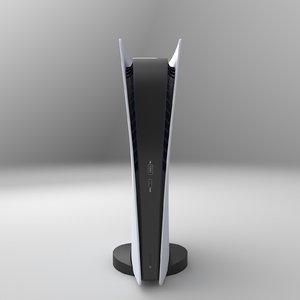 playstation digital 3D model