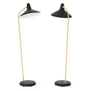 3D gubi g 10 floor lamp model