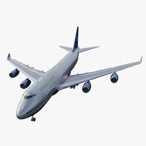 3D airliner flight