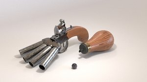3D pistol musket