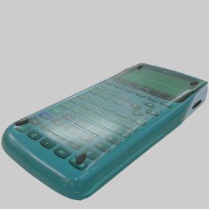 3D blender calculator cover different model