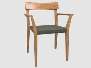 teka 172 armchair 3D