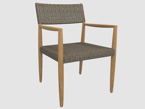 tundra dining chair arms model